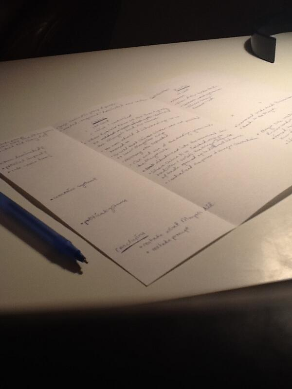 essay writing outlines