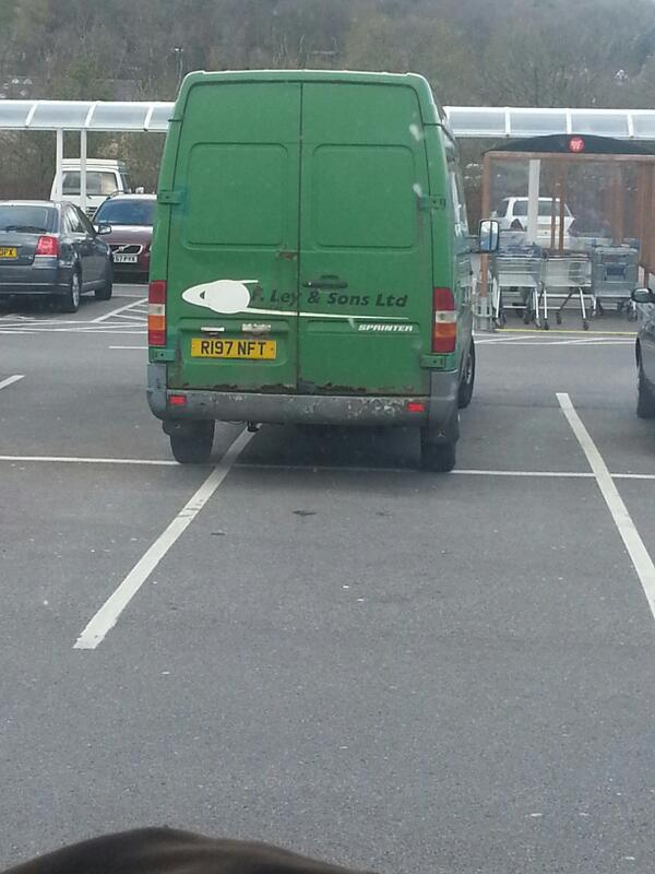 R197 NFT is an Inconsiderate Parker