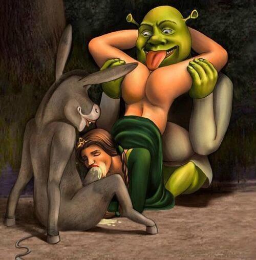 Shrek And Fiona Fucking