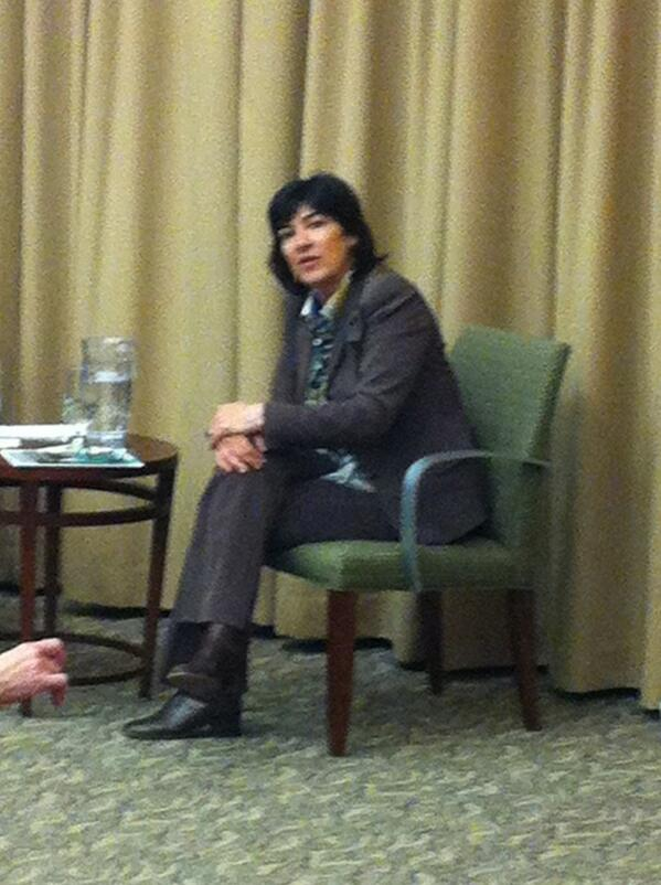 """""""Our job is to put out the right information, you just have to do it."""" - @camanpour #Journalism #MurrowForum pic.twitter.com/URZ86WWw2g"""