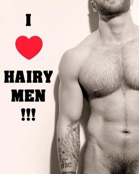 Love hairy men