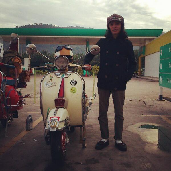 Our Piaggioers of the week is @arif_firdaus . Wanna be like him. Send us your images with Piaggio at @Piaggio_MY. http://t.co/1mtyYPvk2D