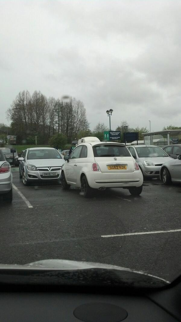 SG62 VZK is an Inconsiderate Parker