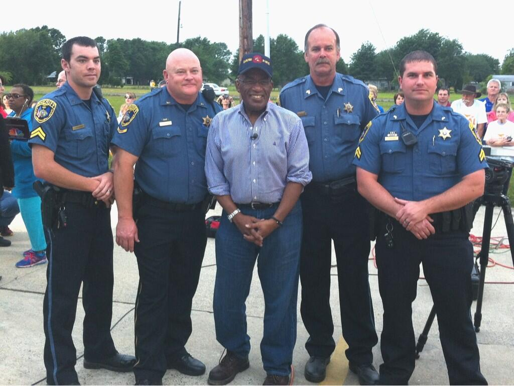 Twitter / annerobicheaux: #CPSO meets @alroker for ...