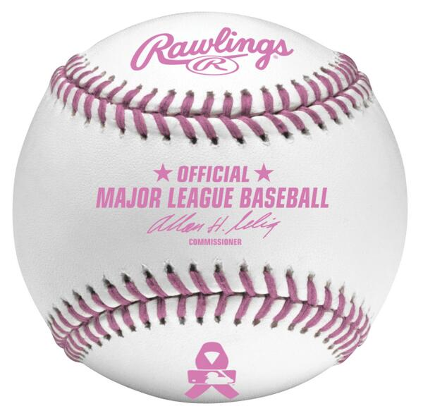 Here are the baseballs that will be used today for Mother's Day from @RawlingsSports http://t.co/BIG51dNgUY