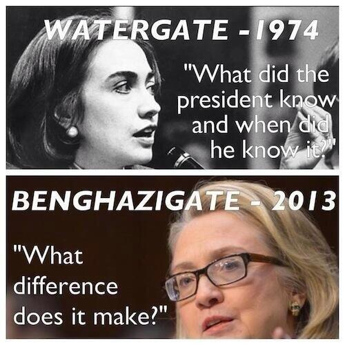 Hillary Clinton Watergate