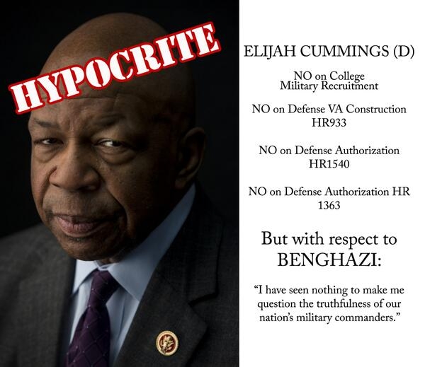 Elijah Cummings meltdown at IRS targeting hearing
