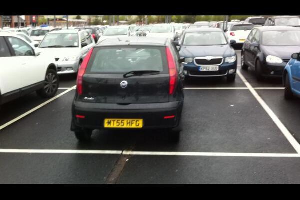 MT55 HFG displaying crap parking