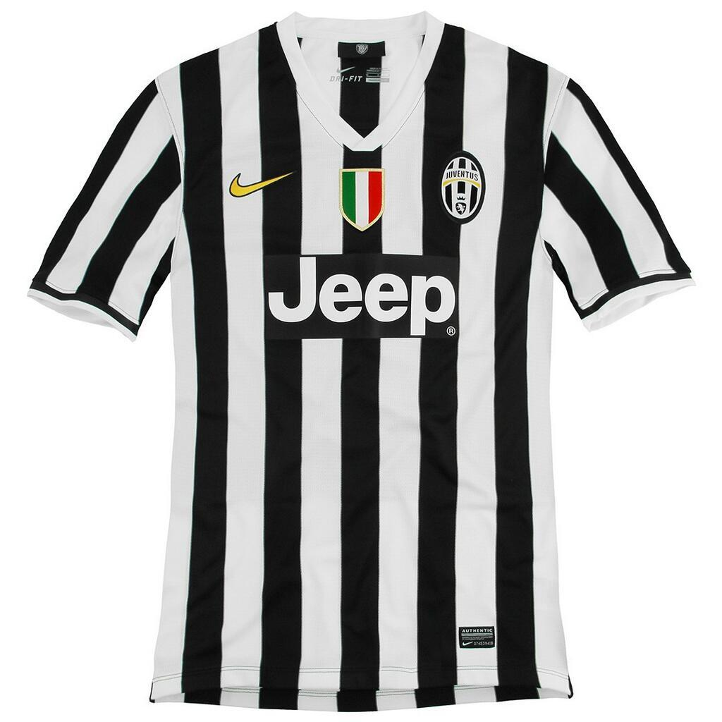 In Pictures: Juventus release brand new images of their 2013 14 home kit
