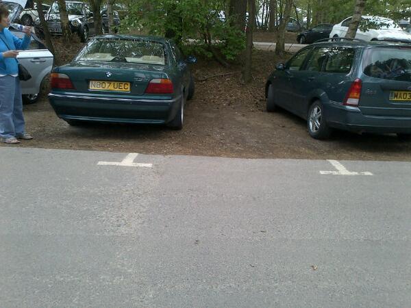 N807 UEC displaying crap parking