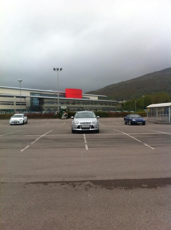GT06 WYN displaying crap parking
