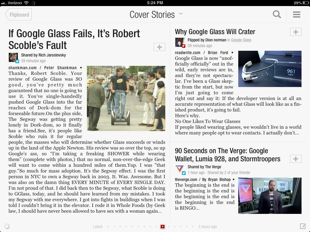 Twitter / Scobleizer: Google Glass will fail, press ...