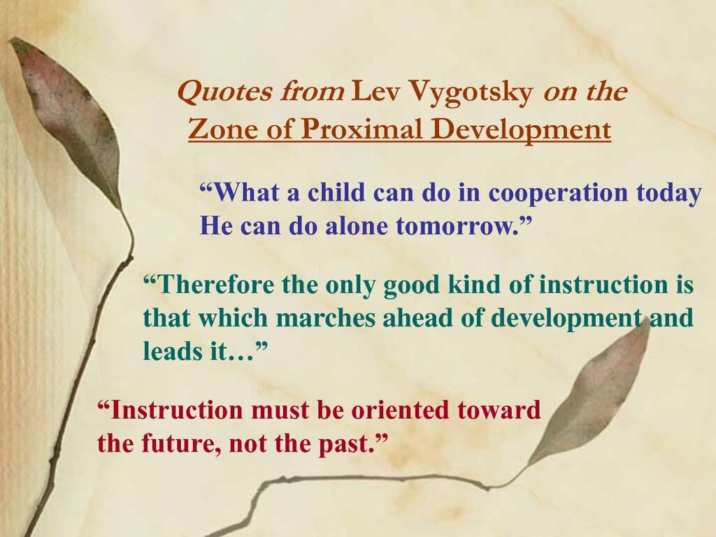 "Karin Donkers On Twitter: ""Quotes From Lev Vygotsky On The"