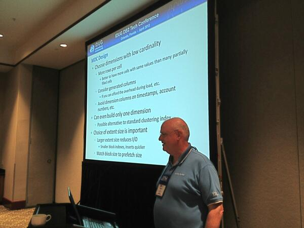 #IDUGNA #DB2 @mhubel teaches top gun DB2 performance class with @srhayes - 22 Smarter DB2 people today! pic.twitter.com/hl5dNzCueN