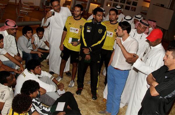 نادي الاتحاد يبحث بطولاته ورجاله خلال أجتماع تكريم الأولمبي
