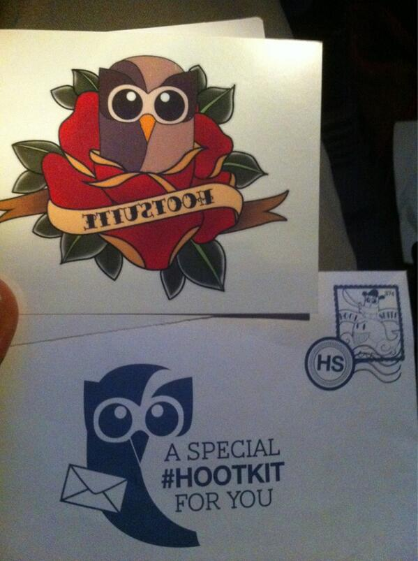 @daveohoots thanks for the #Hootkit can't wait to ink this #HootTatty on. So badass pic.twitter.com/hcvN1yLheE