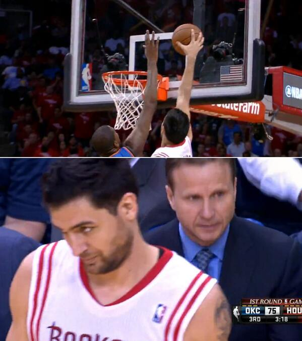 806ff9f9a1b Carlos Delfino dunks on Kevin Durant then makes a meme worthy face ...