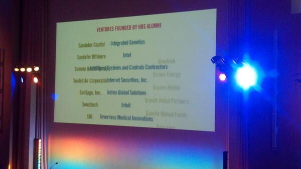 Cool scrolling list of ventures founded by #HBS alumni. #HBSNVC pic.twitter.com/iuY6cqlR9S