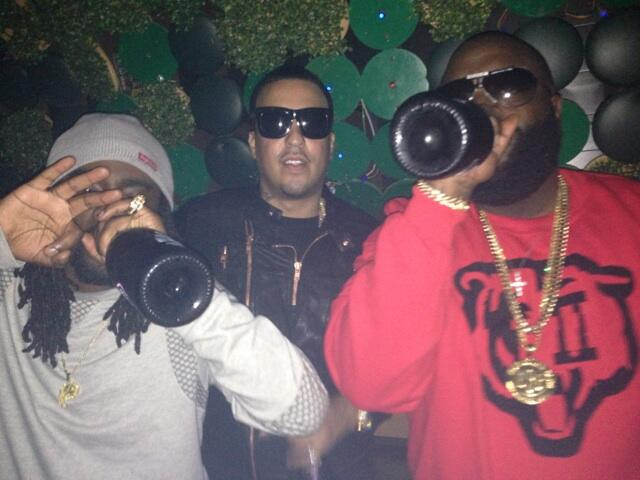 Twitter / rickyrozay: Black Bottle Boys... @Wale ...