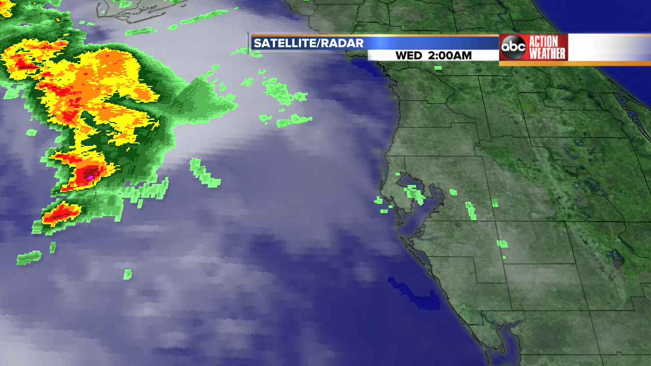 Twitter / TampaBayWeather: Here is a look at the rain ...