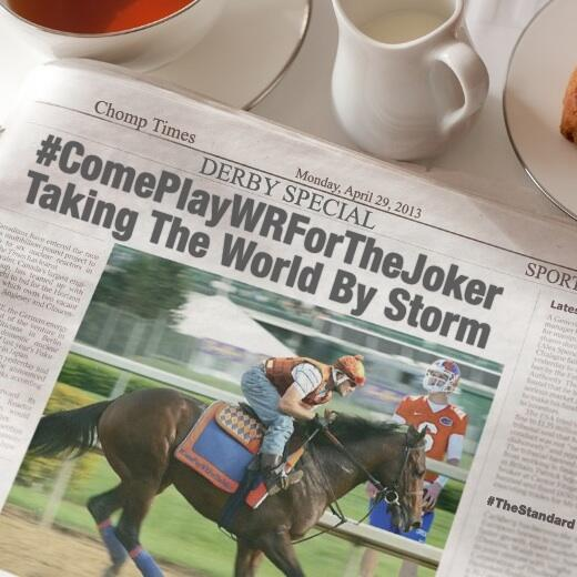 But horses can't play football RT @jokerphillips: A new horse has been entered into the #derby #comeplaywrforthejoker pic.twitter.com/Klm1X05BlQ