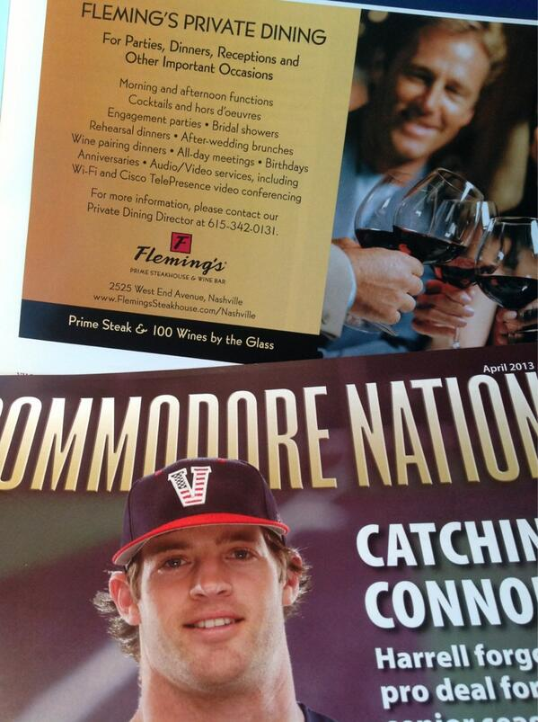 Our beautiful ad in April's Commodore Nation! #anchordown @Flemings @CommodoreNation pic.twitter.com/lHOFWGL5Zv