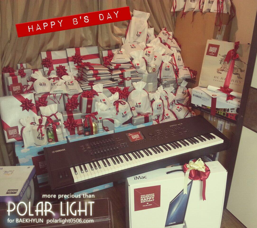 Idek what hes gonna do with this many presents ] Polarlight