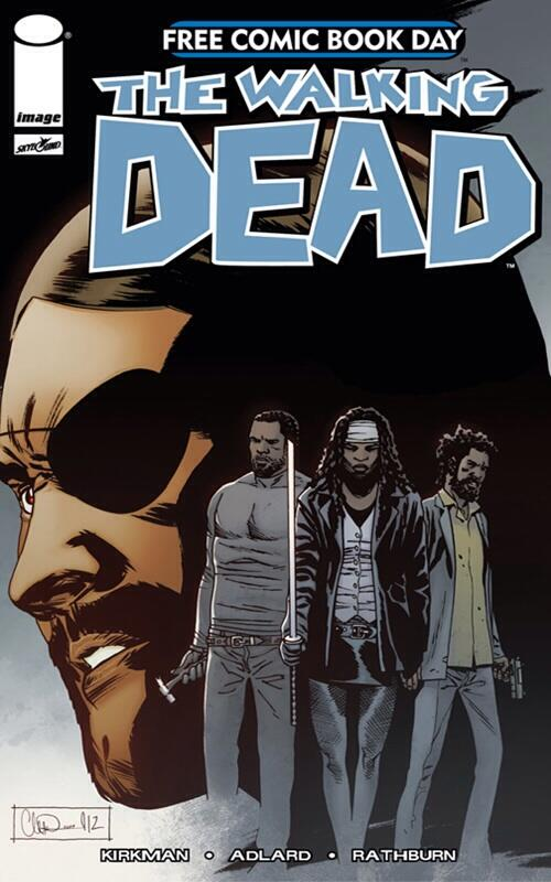 #TheWalkingDead #freecomicbookday issue. I'm so getting this on Saturday. #FCBD pic.twitter.com/iELY7Z0qbi