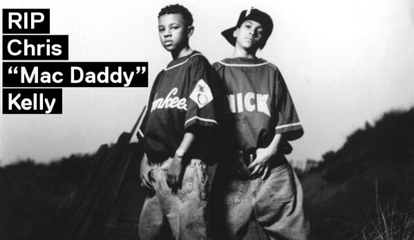 "#RIPChrisKelly: Terrible news, Chris ""Mac Daddy"" Kelly has been found dead. on.vh1.com/RIPChrisK #KrisKross pic.twitter.com/L88ejBFAlT"