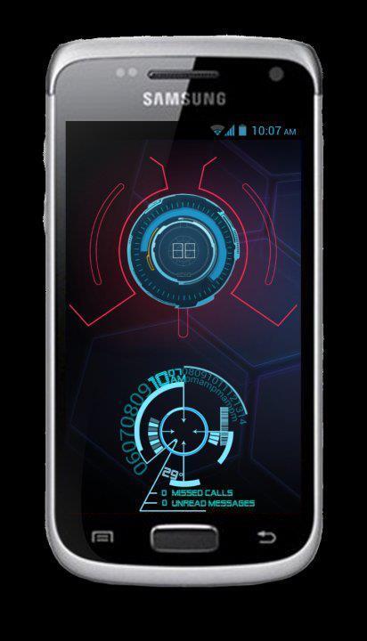 TUTORIAL] Custom HomeScreen J.A.R.V.I.S.-Ir… | Samsung Galaxy W ...