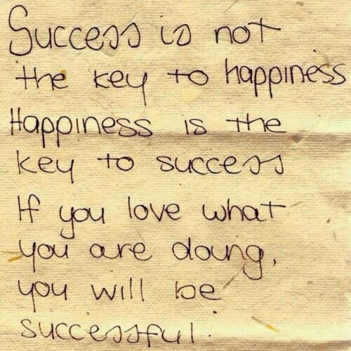 Twitter / swankyannie: Success is....:) ...