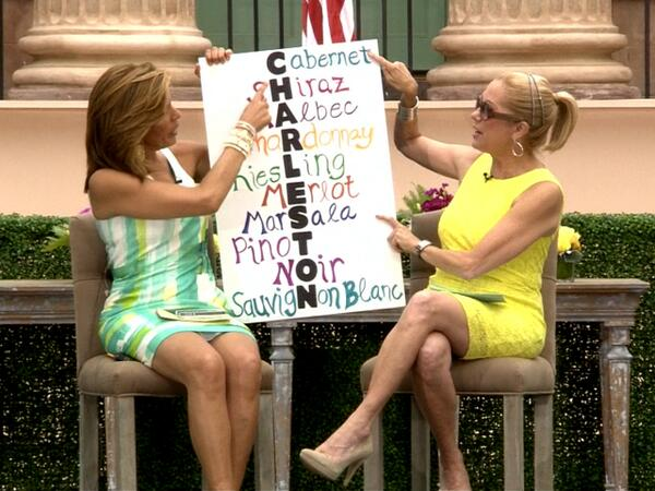 .@KathieLGifford @HodaKotb show off a sign about what Charleston REALLY means! #KLGandHodaCharleston pic.twitter.com/GuHZ41wuq6