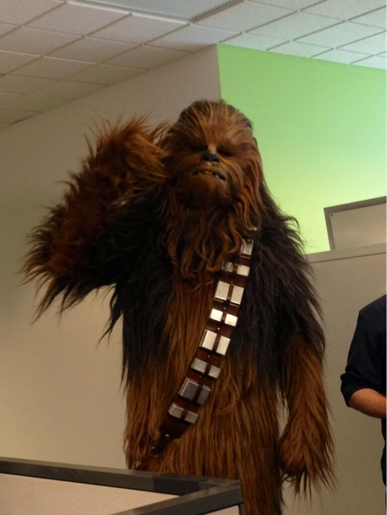 Twitter / MTVGeek: Look what @StarWars star dropped ...