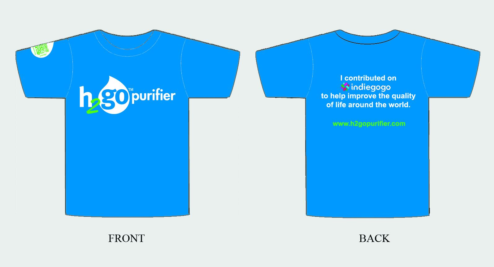 H2gO Water Purifier T-Shirt