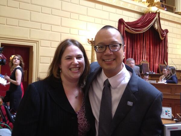 With @GLADLaw @jansonwu on the floor at RI house. #RI4M pic.twitter.com/7DaIXlyPcF
