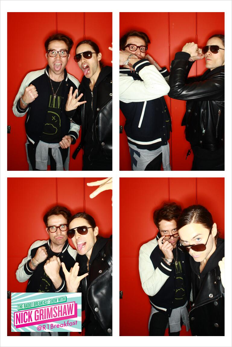 Jared Leto @BBC Radio One - 30 Avril 2013 - London  BJUwzQjCAAAWvpS