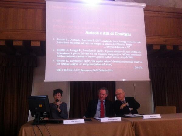 Paola Zuccolotto e Eugenio Brentari al convegno Iasa pic.twitter.com/htSq7uIaT1