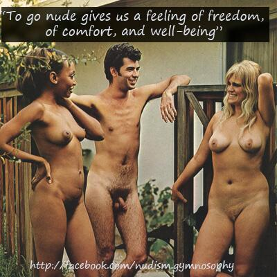 Being nude is natural