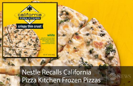 Abc News On Twitter Nestle S California Pizza Kitchen
