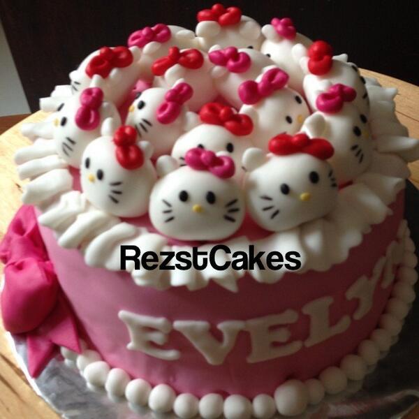 Rezst Cakes On Twitter Lise Mp Cake Hello Kitty Bisa Cake Coklat Harganya Kl Ukuran 12cm 120rb