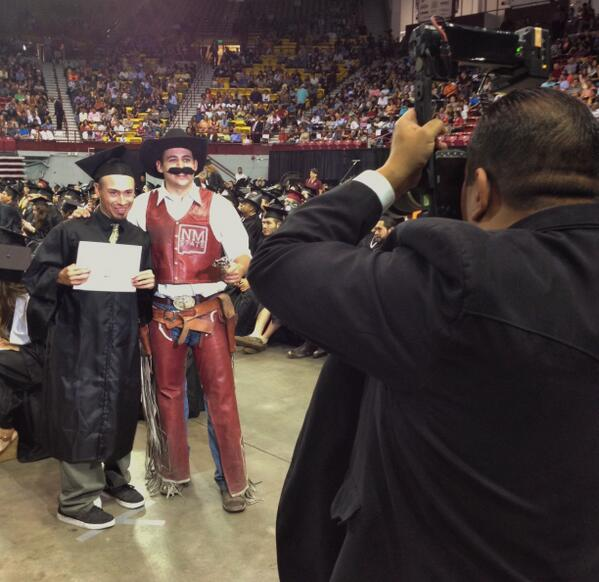 Congrats to @nmsu Class of 2013! #nmsu #nmsugrad #commencement #pistolpete #classof2013 pic.twitter.com/xbtxUvRVVJ