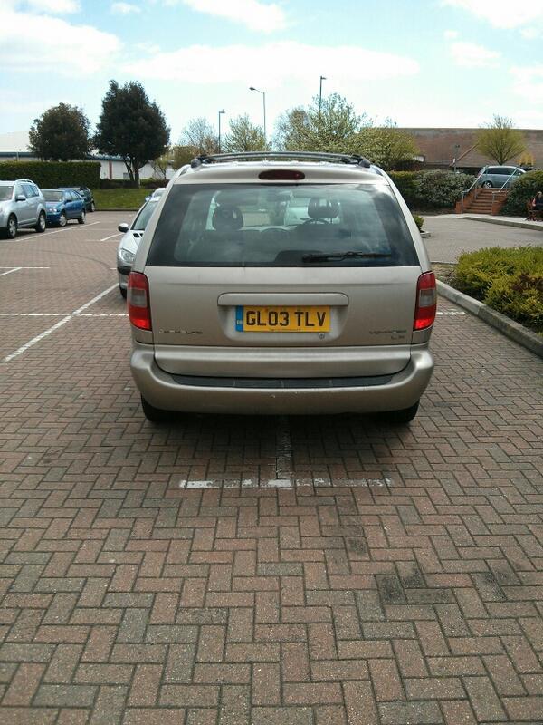 GL03 TLV displaying crap parking