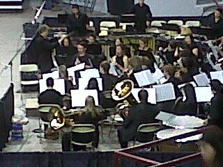 NMSU Band performs before am commencement ceremony for Ag, Educ, Engr & Health college grads. pic.twitter.com/3NHNfXNeZ6