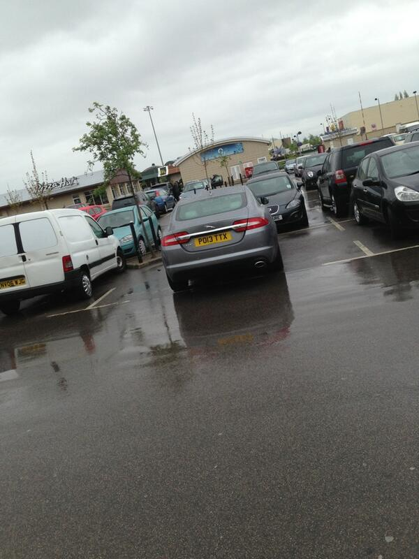 PO13 TTX displaying Inconsiderate Parking