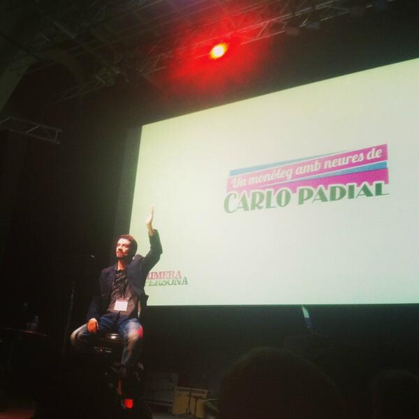 Anoche, en mi actuación en el @primera_persona del @cececebe TODO MUY BIEN. pic.twitter.com/nf5gu6YNAs