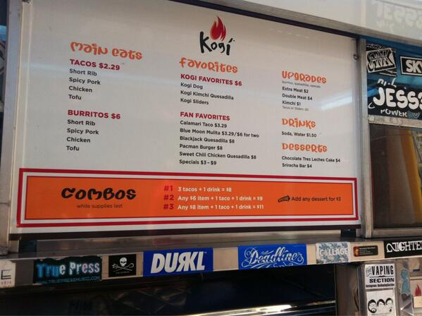 Enjoyed the @kogibbq truck yesterday, took an Angel's flight up to Water Court/Square, yum!!  Great food choices. http://t.co/gDG5ljbPiD