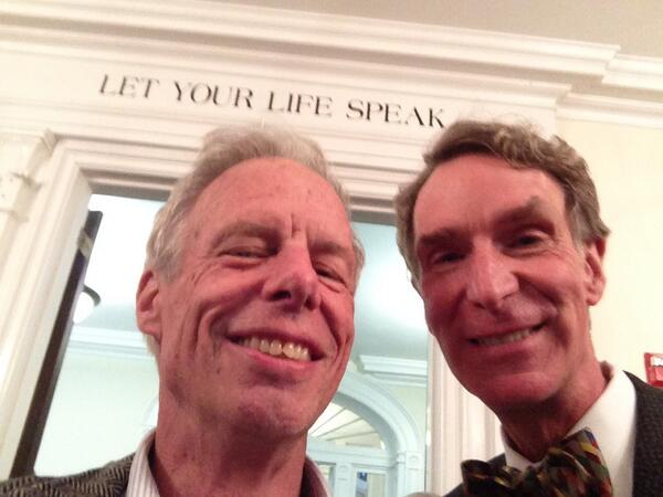 Let your life speak. Words to live by. This Mr. Lang my HS physics teacher. We're at my reunion. He changed my life. pic.twitter.com/cMYIELfibq