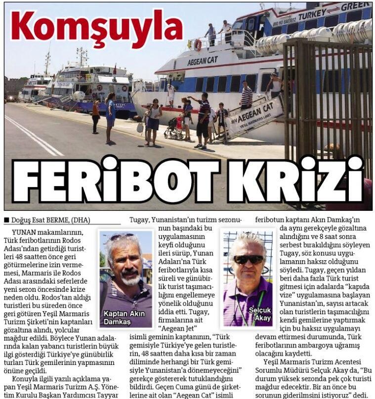 Turizm - Magazine cover