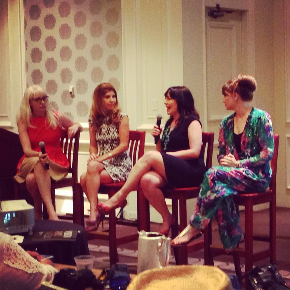 Twitter / MeaganFrancis: Power panel at #mom2summit ...