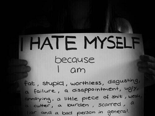 Depression Quotes On Twitter I Hate Myself Because I Am Http